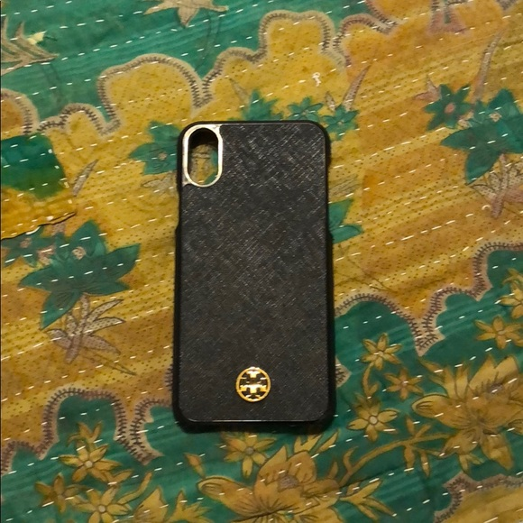 best loved 9722a 653fb iPhone X Tory Burch Case